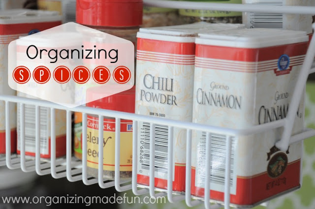 spices spice rack organizing
