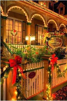 A mi manera ideas para que decores el exterior de tu casa - Como adornar la casa en navidad ...