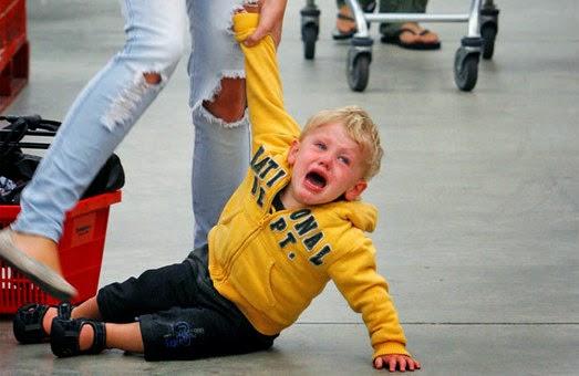 Αποτέλεσμα εικόνας για toddler tantrum crying in public
