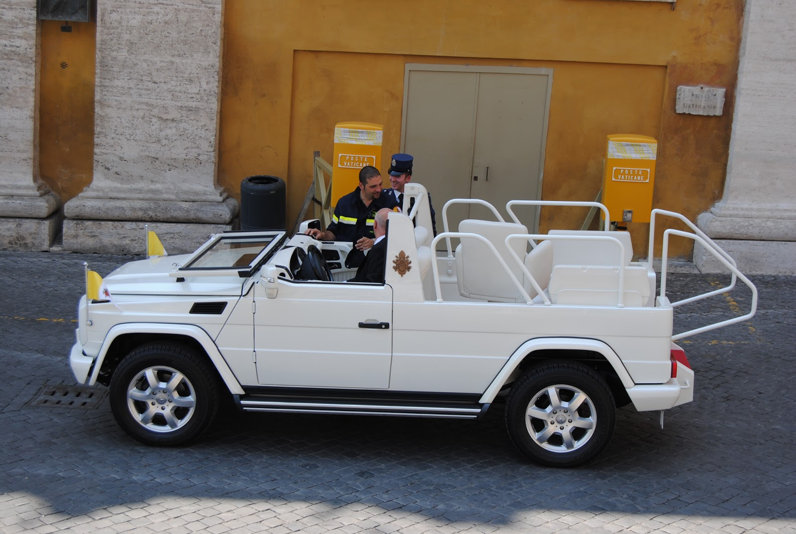 What was the jeep in pope #5