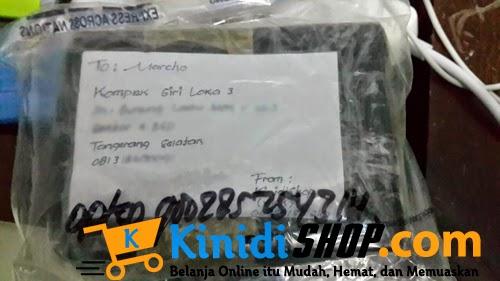 Bukti Paket Pengiriman KinidiShop.com