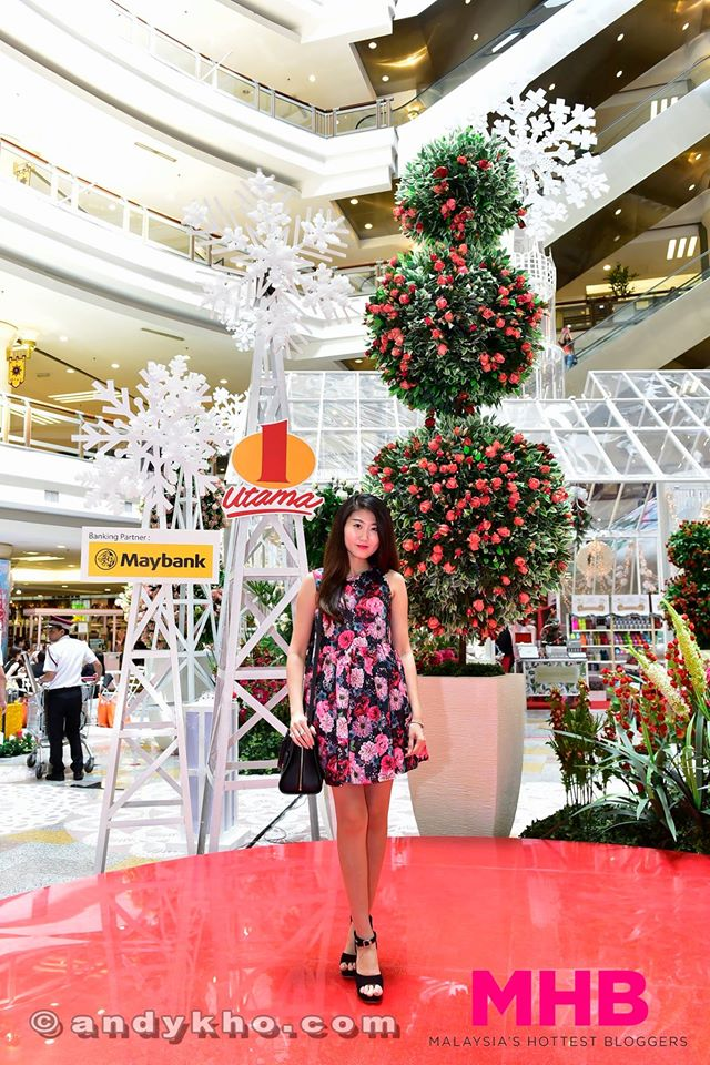 for the entire month of december 1 utama will be transformed into a spectacular christmas evergreen garden in conjunction with this magical festive season - An Evergreen Christmas