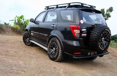 Modified Daihatsu Terios TX 2007, this real 4x4!