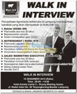 Bursa Kerja Lampung Moo ILK (True Milk)