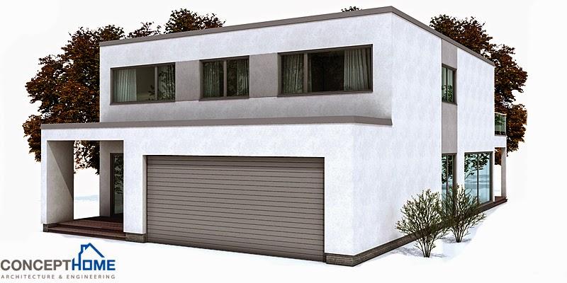 Ch149 Modern Beach House Plan Beach House Plans