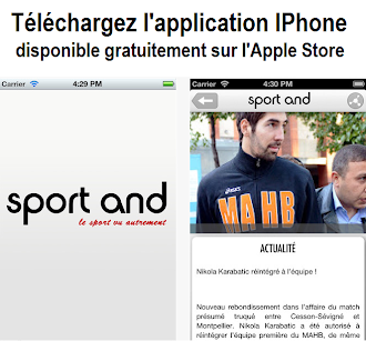 Téléchargez gratuitement l'APPLICATION IPHONE de sport and !