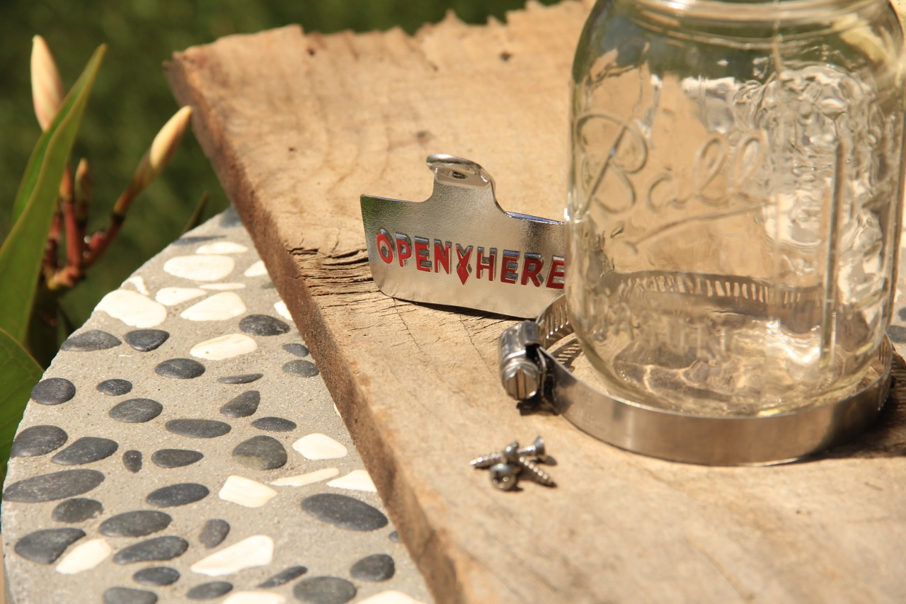 how to make a bottle opener