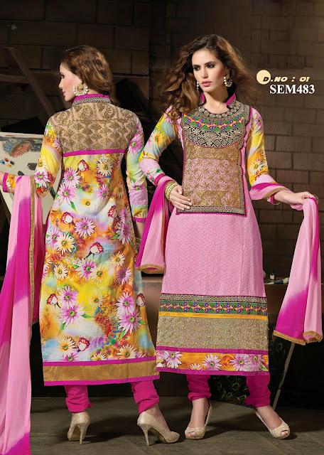 Online Shopping For Embroidery Neck Salwar Kameez