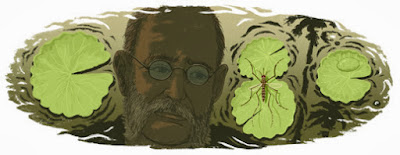 Google Doodle - Carlos Juan Finlay's 180th Birthday