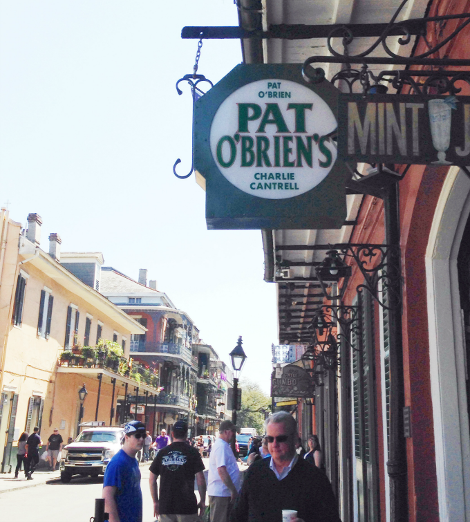 pat o'briens new orleans french quarter