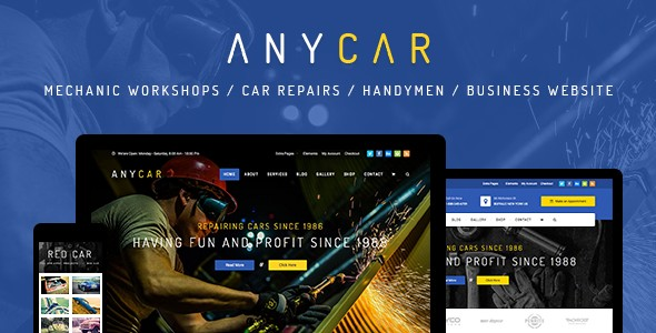 download  AnyCar - WordPress Theme for Automotive & Business