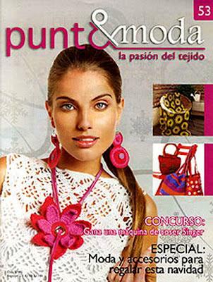 Revista: Punto y Moda 53 (especial accesorios Navidad!)