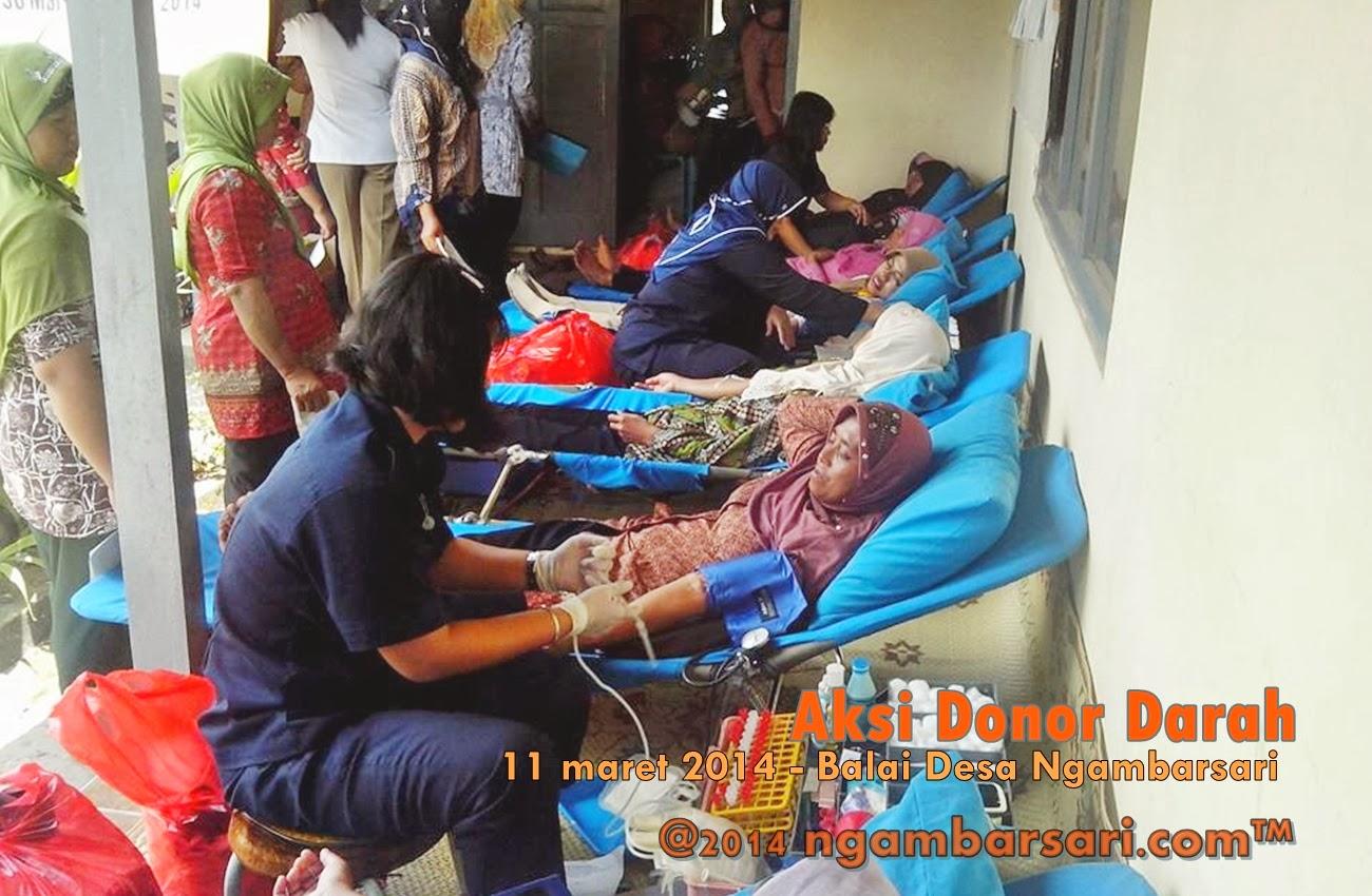 Aksi Donor Darah Ngambarsari 6