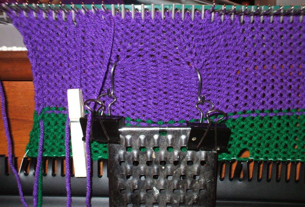 Knitting Nancy Machine : Natterings smatterings the machine
