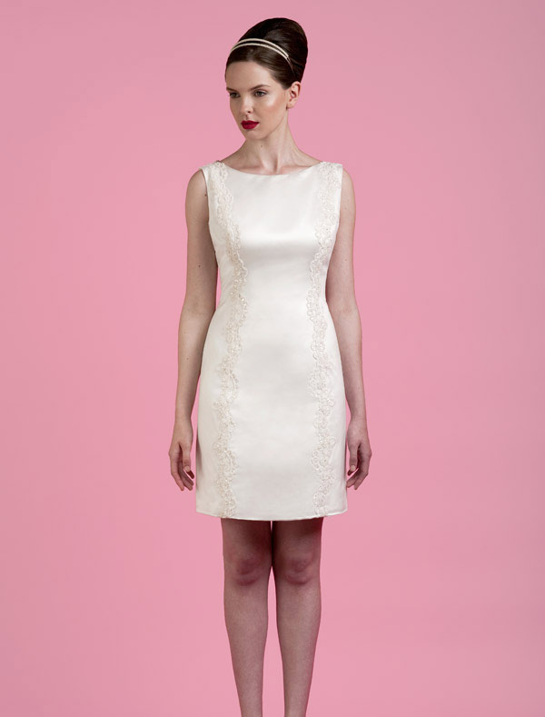 Spring Short Wedding Dresses 2014 From Tobi Hannah
