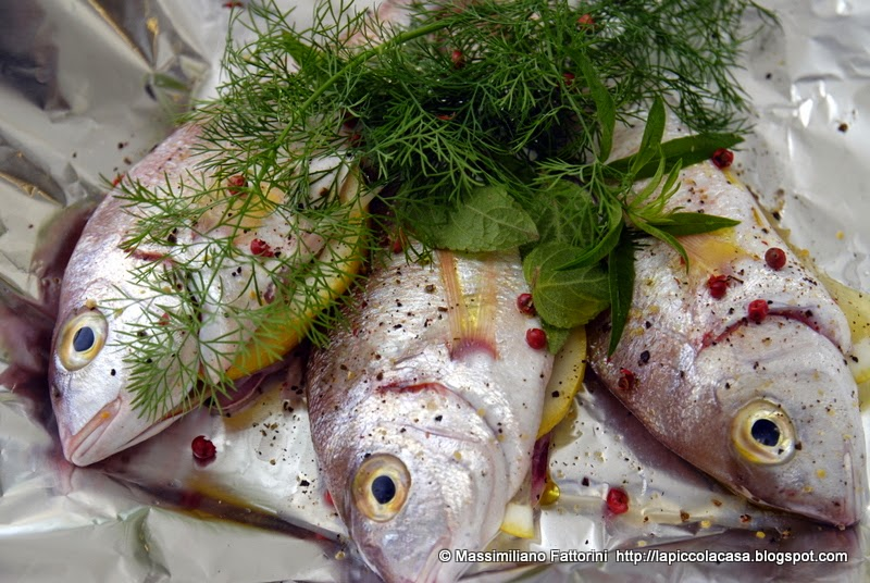 la piccola casa: come cucinare il pesce senza sporcare: cartoccio ... - Come Si Cucina Il Pesce