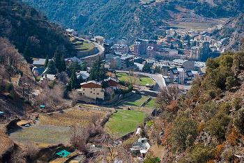 Vistas de Sant Julià de Lòria - Andorra