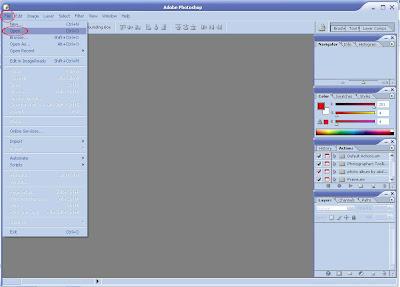 Cara Menggunakan Action Script Photoshop