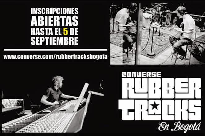 Converse Rubber Tracks en Bogotá