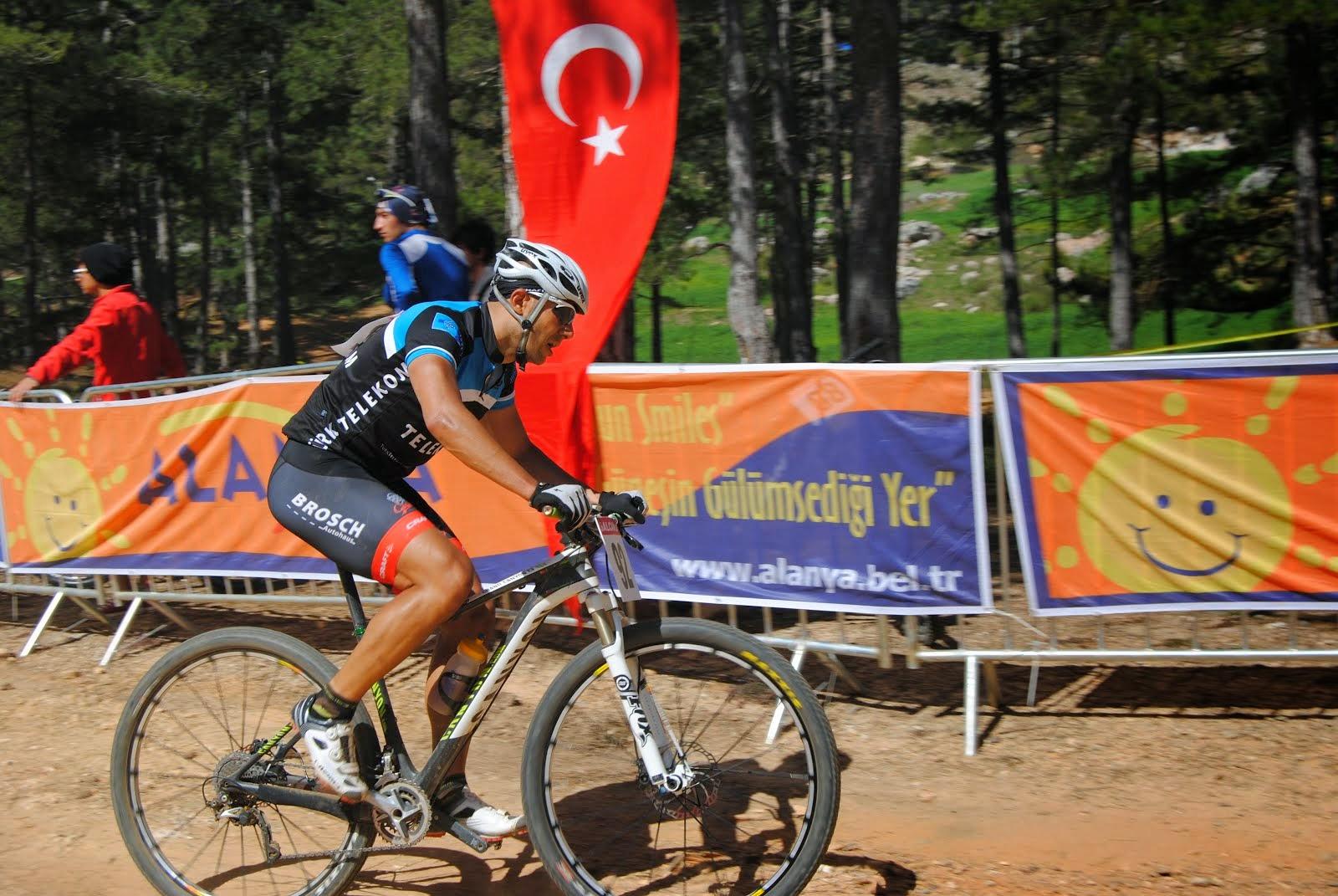 Mountainbiker Erkan