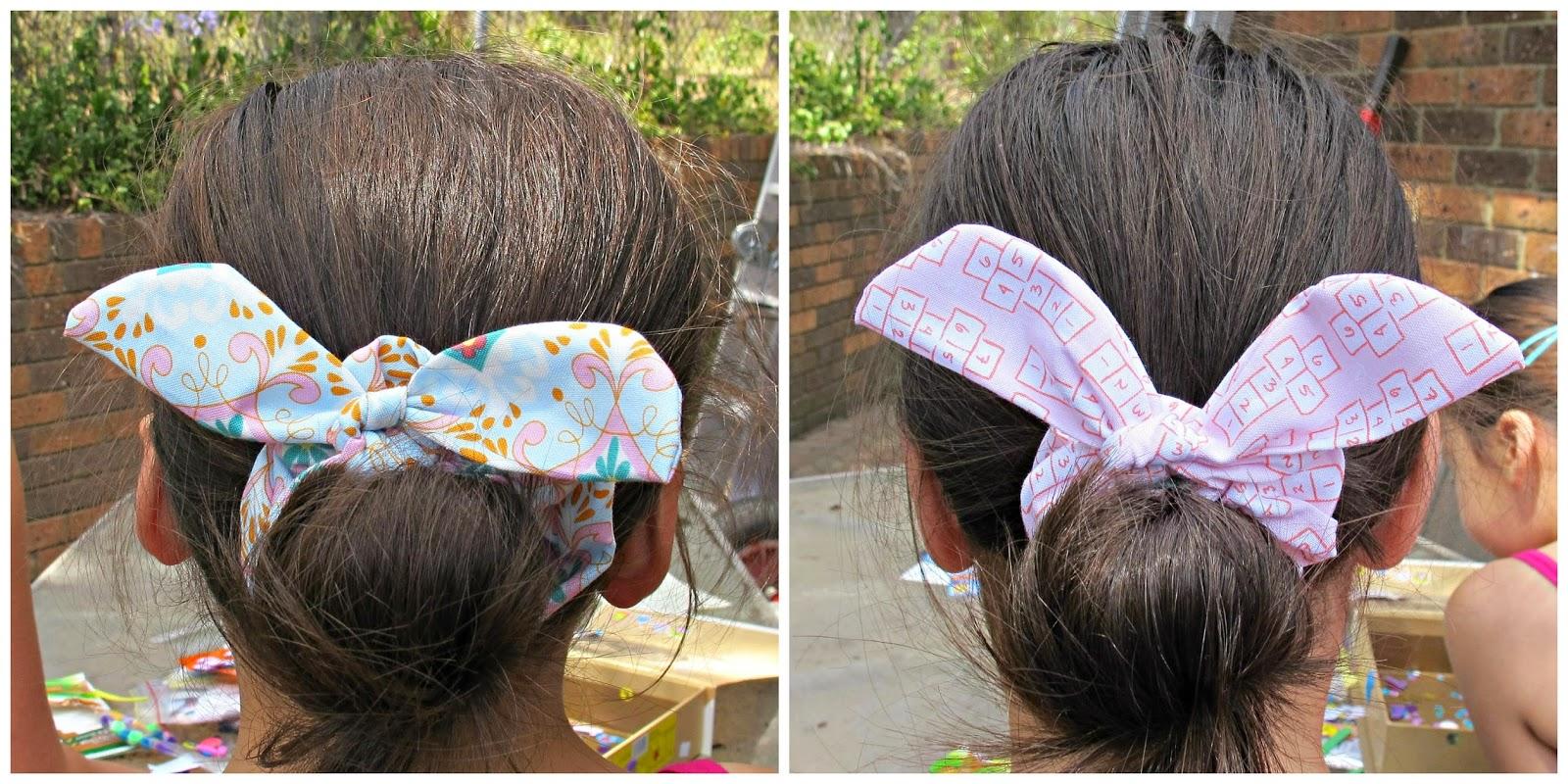 image bunny ear hair scrunchies