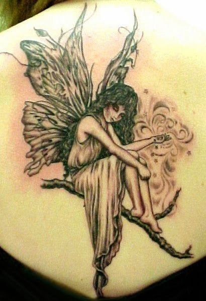 latest angel tattoo designs