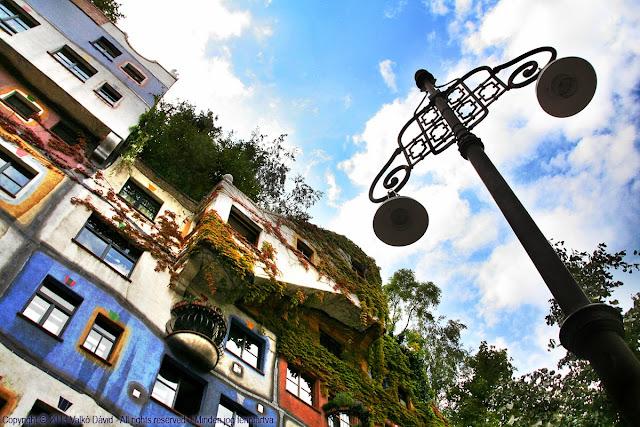 Hundertwasserhaus - Bécs, Ausztria