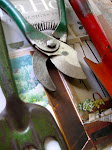 Click on the photo of gardening tools to e-mail me