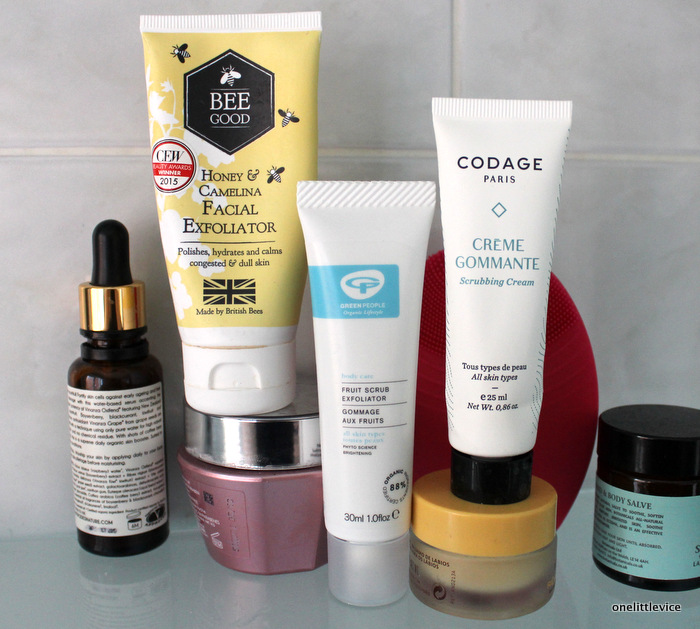 one little vice beauty blog: bee good, green people, codage
