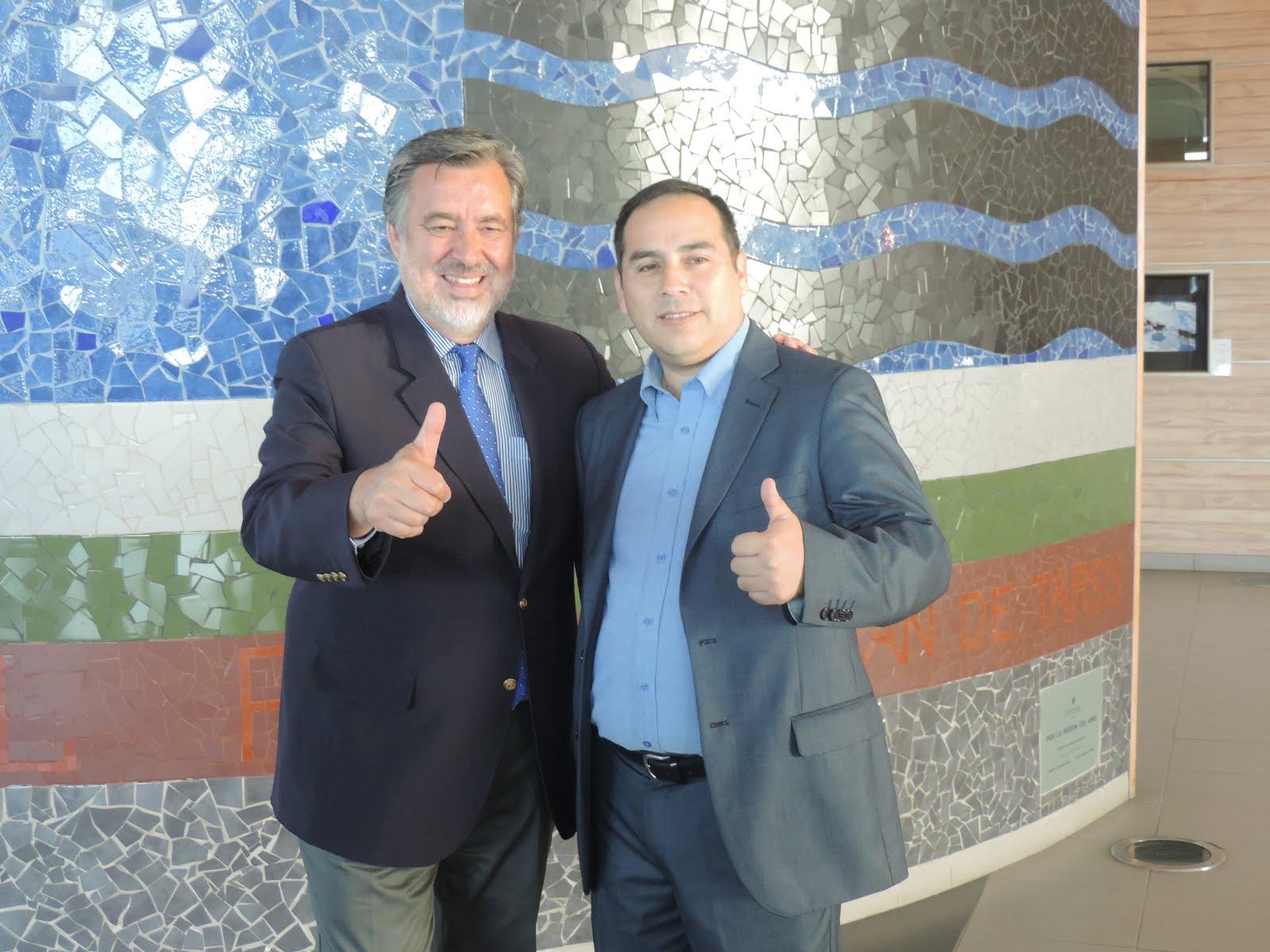 Senador Alejandro Guillier, José Aceituno Suazo