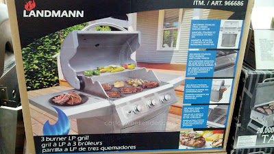 Host a bbq in your backyard with the Landmann model 42170 3 Burner LP Gas BBQ Grill