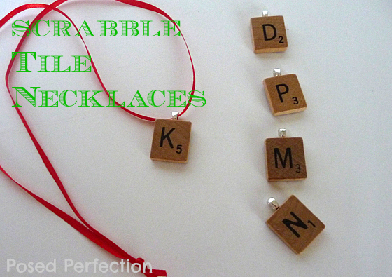 What tween doesn't love having jewelry with her initial? Make up some of these fun Scrabble Tile Necklaces as favors for your next tween birthday party.