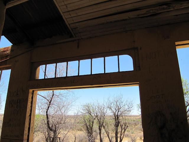 Liebig ghost house Khomas Hochland - Namibia