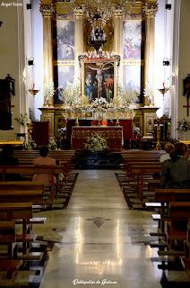 Cristo de Chircales en la iglesia