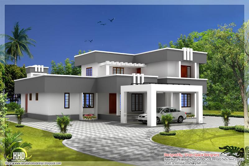 Boxtype 5 bhk home designed in vastu perimeter title=