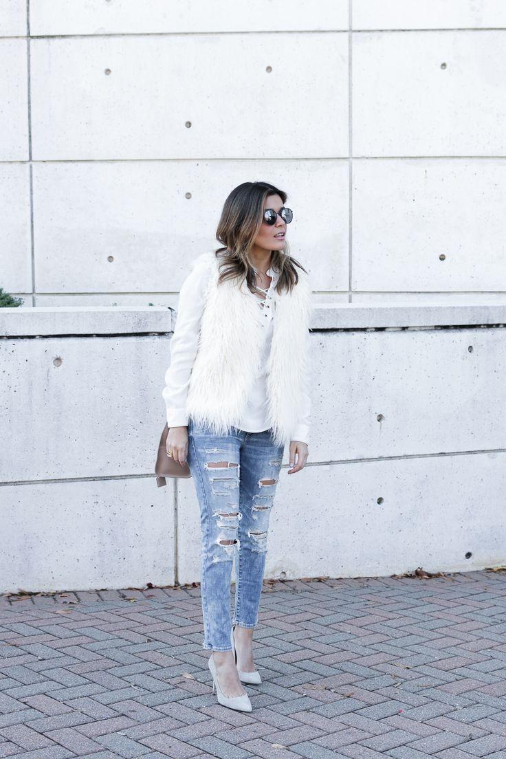 Модное вдохновение: белый, теплый, зимний