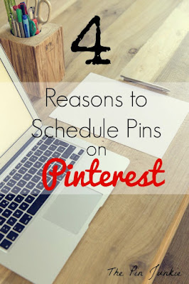why you should schedule pins on Pinterest