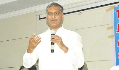 Minister Harish rao fires on Congress Party