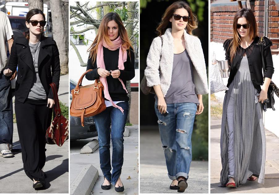 Casual StyleRachel Bilson  Jeans Obsession  Pinterest