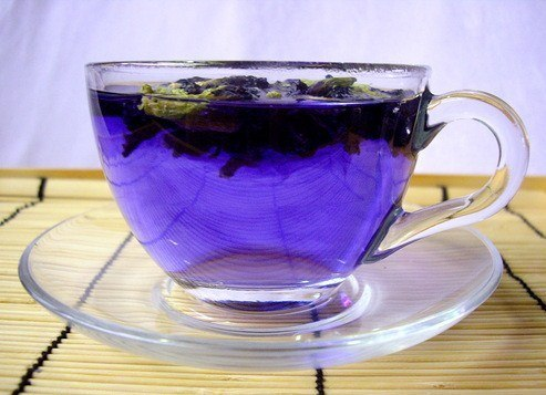 Пурпурный чай чанг шу вреден для похудения