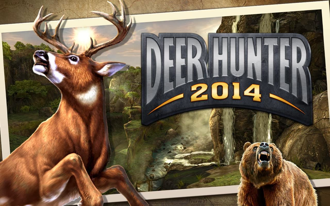 DEER HUNTER 2014 2.0.0 MOD APK with DATA Files (Unlimited Money/Glu