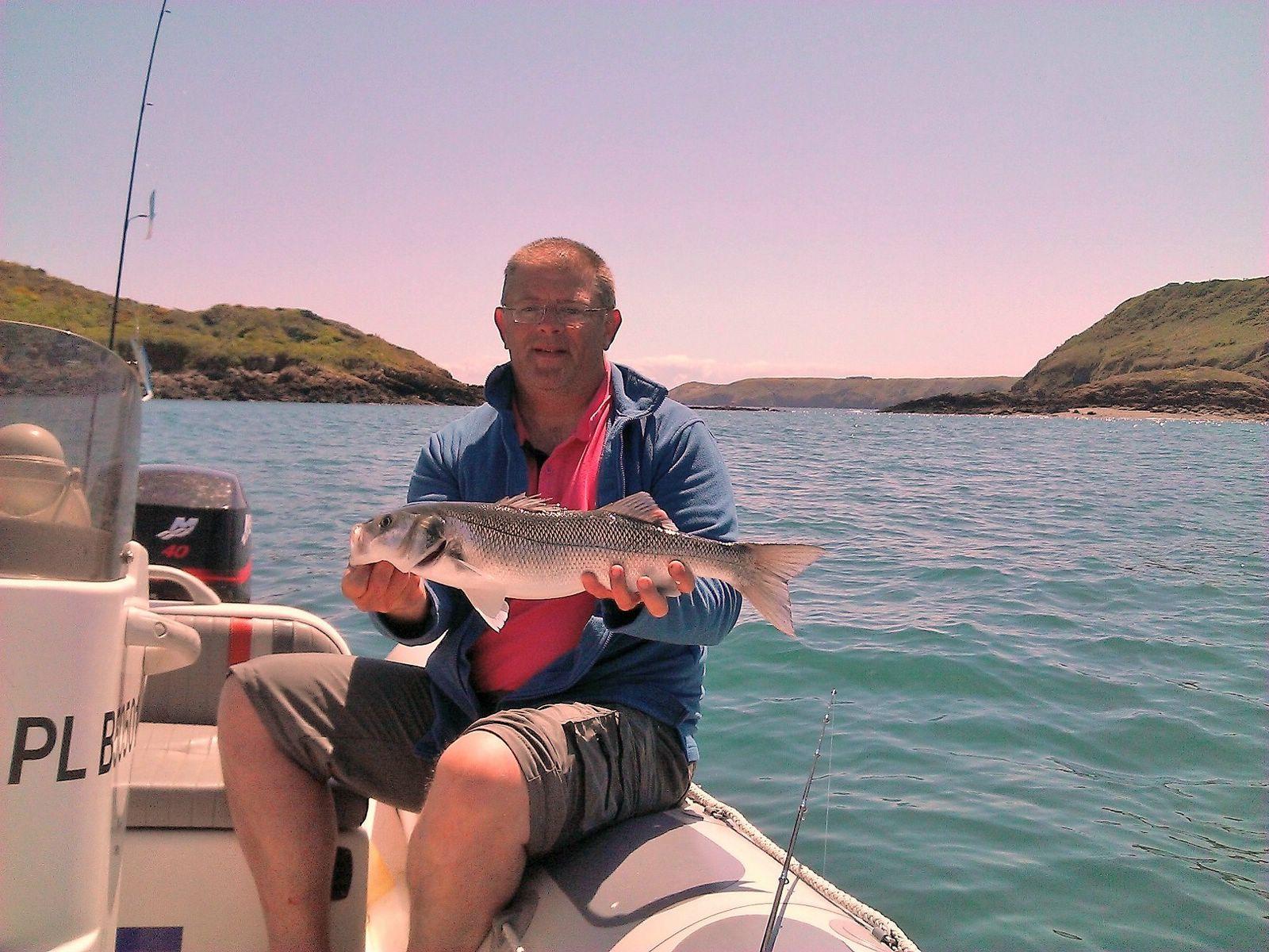 pêche en semi rigide, Bretagne, Valiant 450