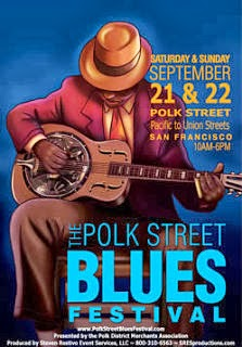 Polk Street Blues Festival, one of the many events taking place in San Francisco September 21-22, 2013