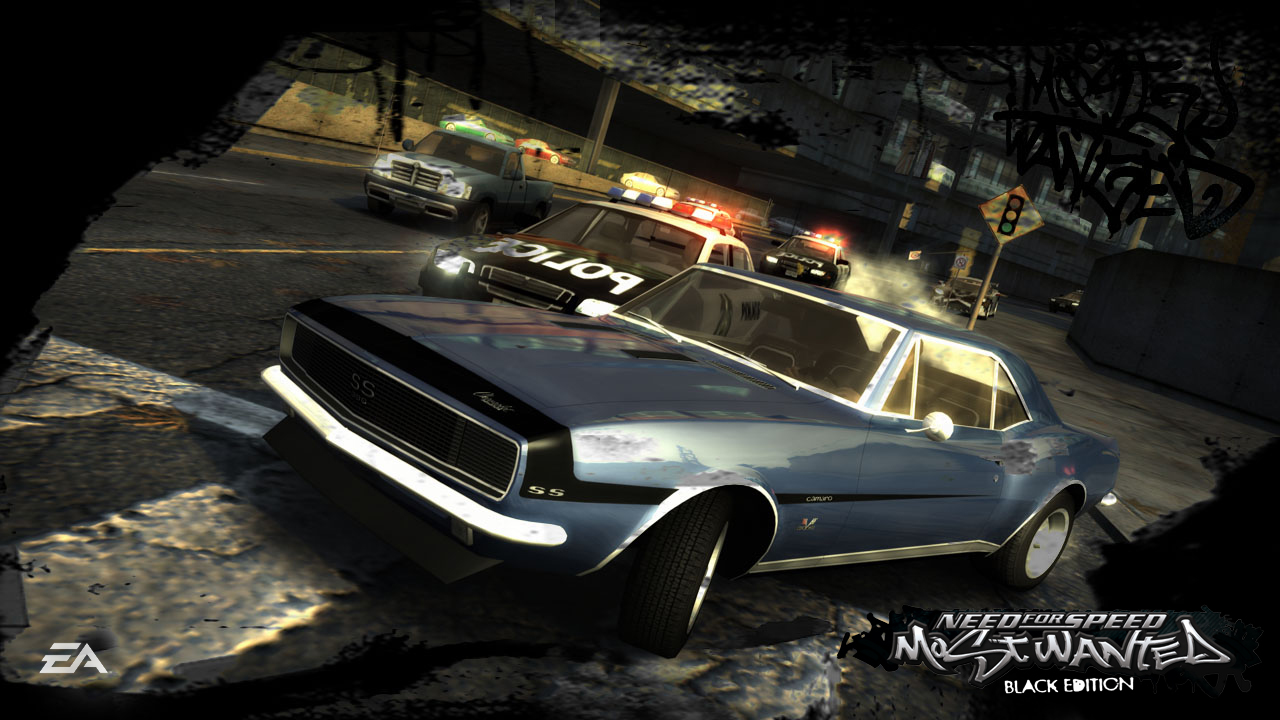 Screens Zimmer 8 angezeig: need for speed most wanted 2005 black edition