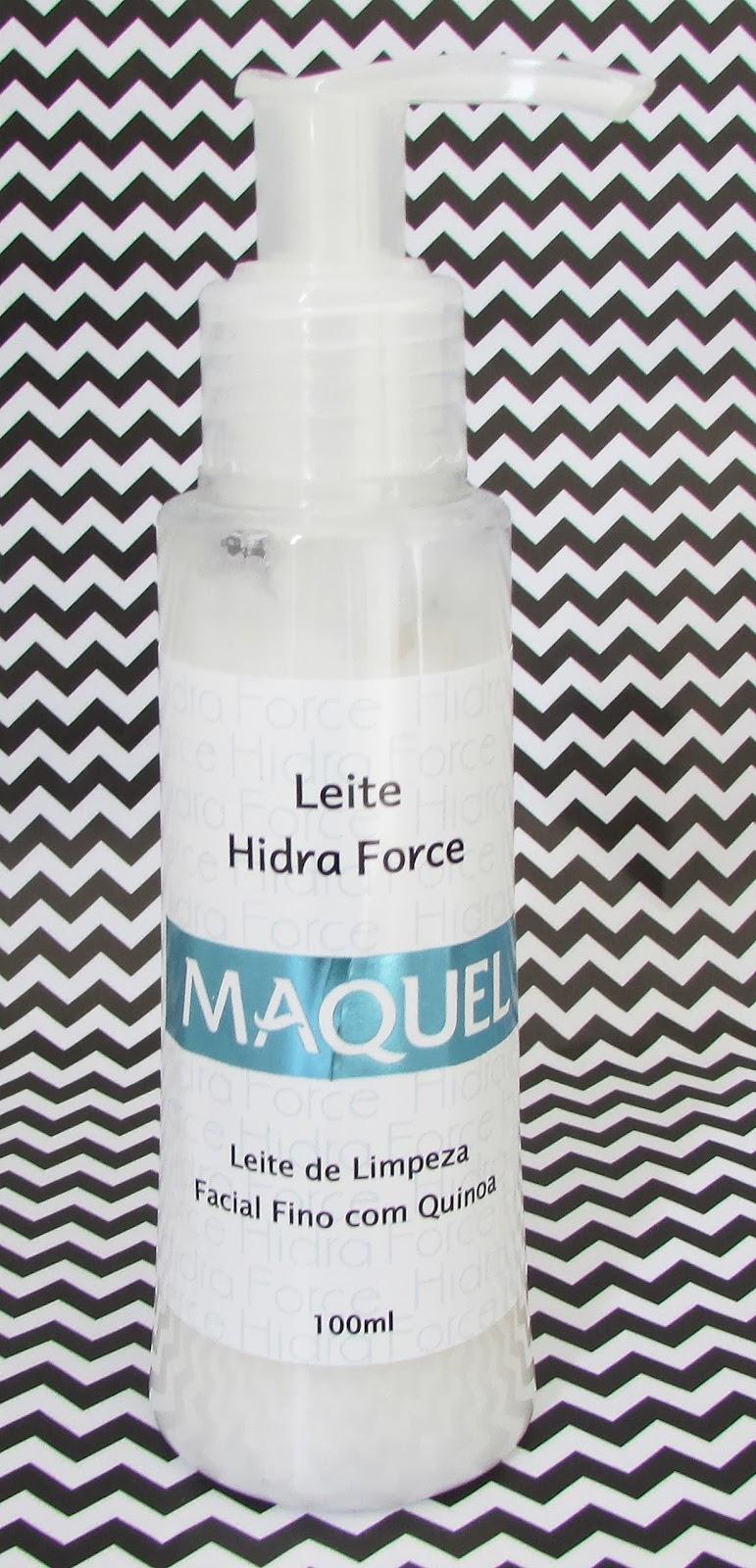 Resenha, Leite Hidra Force, Maquel