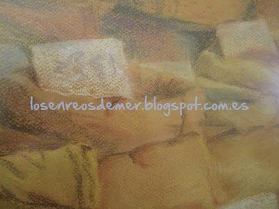 Detalle. Aromas de colores - Pastel
