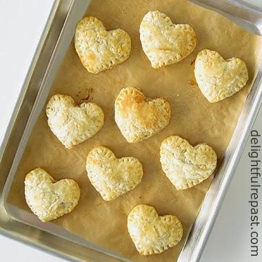 Pastry Heart Jam Tarts \ www.delightfulrepast.com