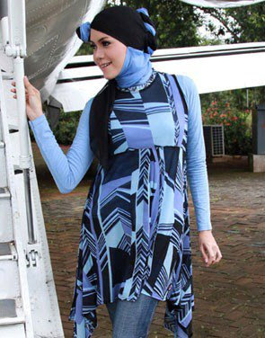 Zenitha Collection Blouse Muslimah Modern ZN 19 A