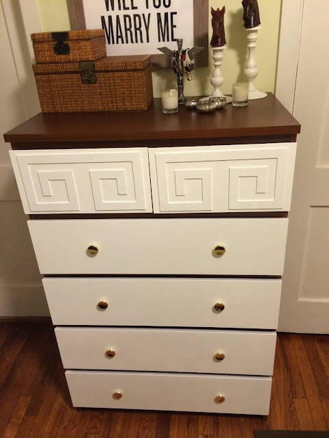 Malm 6 drawer ikea hack