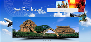 Pro Travel Blogger Template